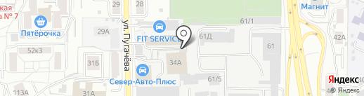 Трофей на карте Кирова