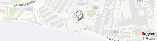Вяткаполимер на карте Кирова