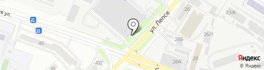 Вятка-Полимер на карте Кирова