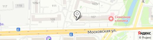 GrandHouse на карте Кирова