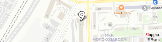 НиКа на карте Кирова