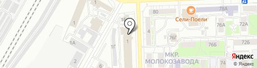Книжка на карте Кирова
