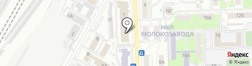 Кит на карте Кирова