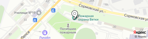Центр противопожарной пропаганды и общественных связей на карте Кирова