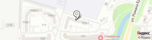 СУ-21 на карте Кирова