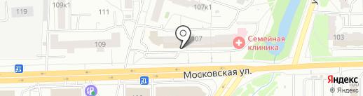Пятёрочка на карте Кирова