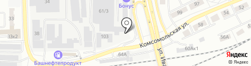 Быстрица на карте Кирова