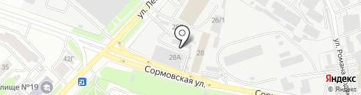 Алдион на карте Кирова