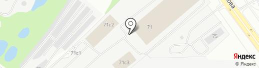 Иксора на карте Кирова