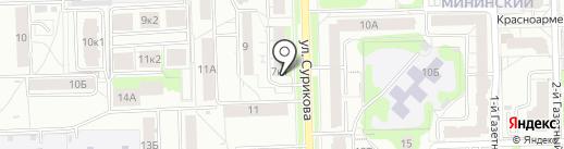 Века Плюс на карте Кирова