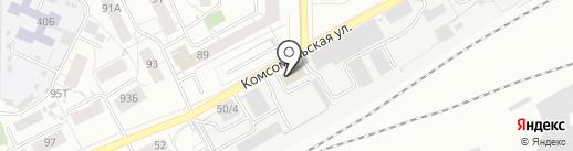 УниверсалСтрой на карте Кирова