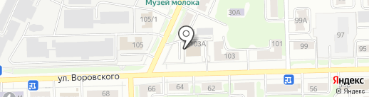 Вершина закона на карте Кирова