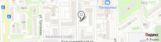 Севрезерв на карте Кирова