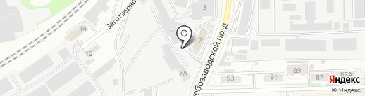 Русский гараж на карте Кирова