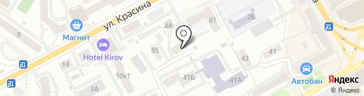 СМУ-7 на карте Кирова
