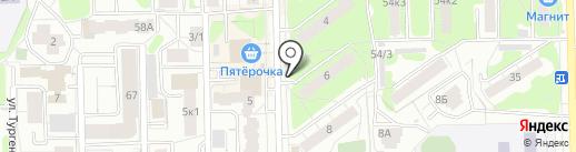 Киоск по продаже рыбы на карте Кирова