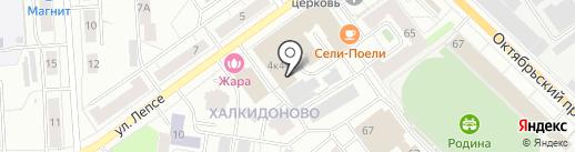 Литос на карте Кирова