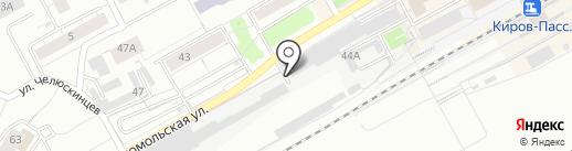 Экотол Сервис на карте Кирова