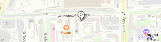 VOLUX на карте Кирова