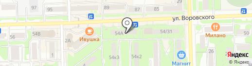 Трикотаж Профи на карте Кирова