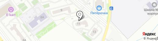 Чистые Пруды на карте Кирова