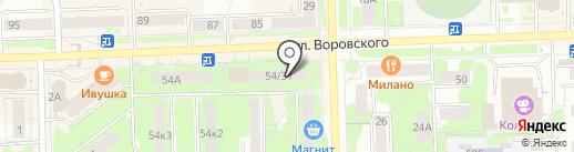 L`azur на карте Кирова