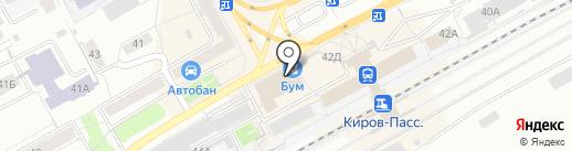Бум на карте Кирова