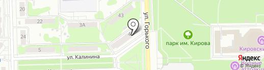 Знахарь на карте Кирова