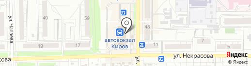 Православный ларец на карте Кирова