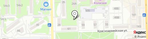 Центральная коммунальная служба, МУП на карте Кирова