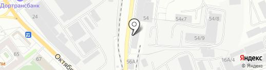 Мебельный Fresh на карте Кирова