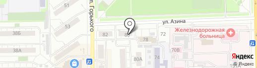 Пиволюбитель на карте Кирова