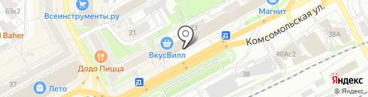 Лёвушка на карте Кирова