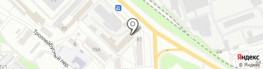 Автопоинт на карте Кирова