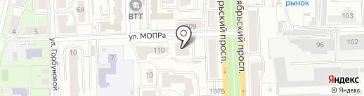 СтройСоюз 7, ЖСК на карте Кирова
