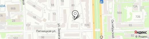 Центр бизнеса и психологии Натальи Машковцевой на карте Кирова