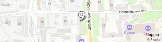 Boxberry на карте Кирова