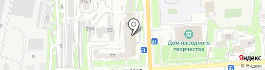 Аптека от склада на карте Кирова