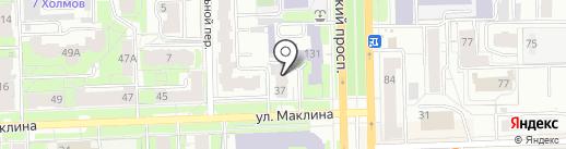 Колобок на карте Кирова