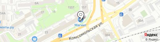 Магазин часов на карте Кирова