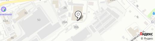 ЯгуарАвто на карте Кирова