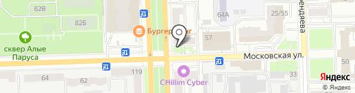 А4 на карте Кирова