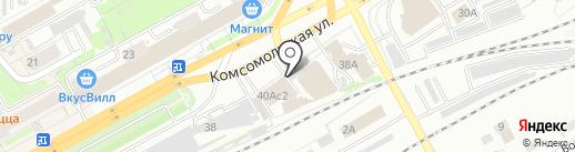 Дым`ок на карте Кирова