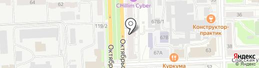 Нова Диабетик на карте Кирова