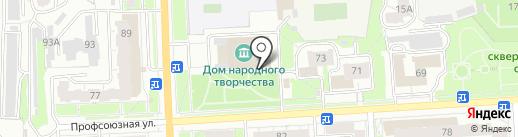 Народная Галерея на карте Кирова