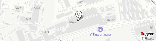 Таксопарк на карте Кирова