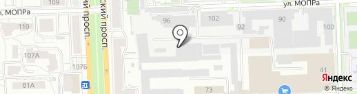 Алькор на карте Кирова
