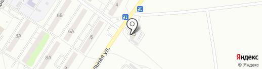 Бристоль на карте Кирова