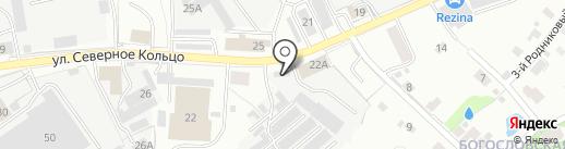 Автоспектр на карте Кирова