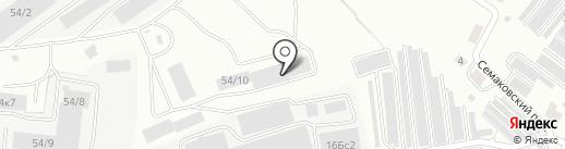 Конкор на карте Кирова